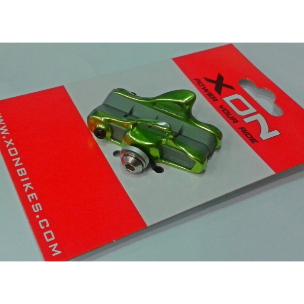 XON XBS-07-GREEN ROAD BRAKE SHOES